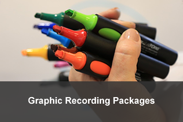 Graphic recording packages