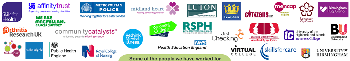 Some of the organisations we have worked for